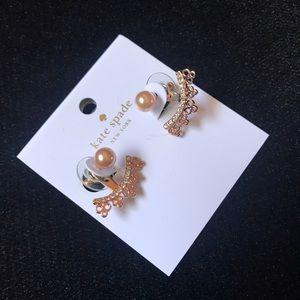 Kate Spade blush Chantilly Earrings